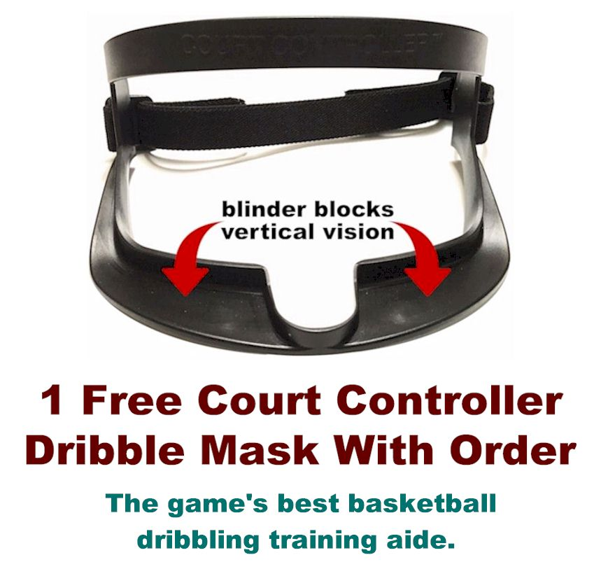 Court Controller dribbling mask