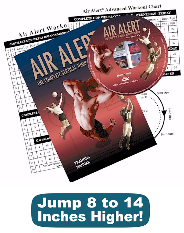 Air Alert vertical jump training