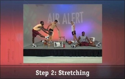 Step 2: Stretching